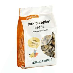 Holland & Barrett Pumpkin Seeds 1kg was £11.99 now £4.70 delivered using the code