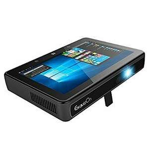"""7"""" Tablet with portable Projector £239.99 Sold by ExquizonEU and Fulfilled by Amazon."""
