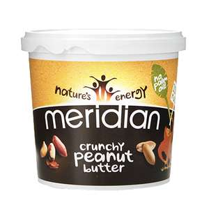 2 x 1kg Meridian Crunchy/Smooth Peanut Butter - £8.38 delivered @ Holland and Barrett