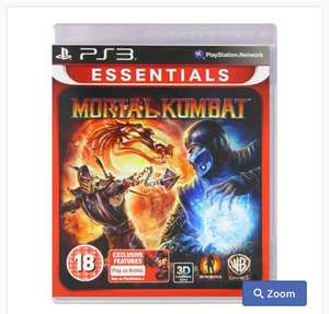 Mortal Kombat Essentials (Sony PS3) , £9.99 delivered @ MyMemory