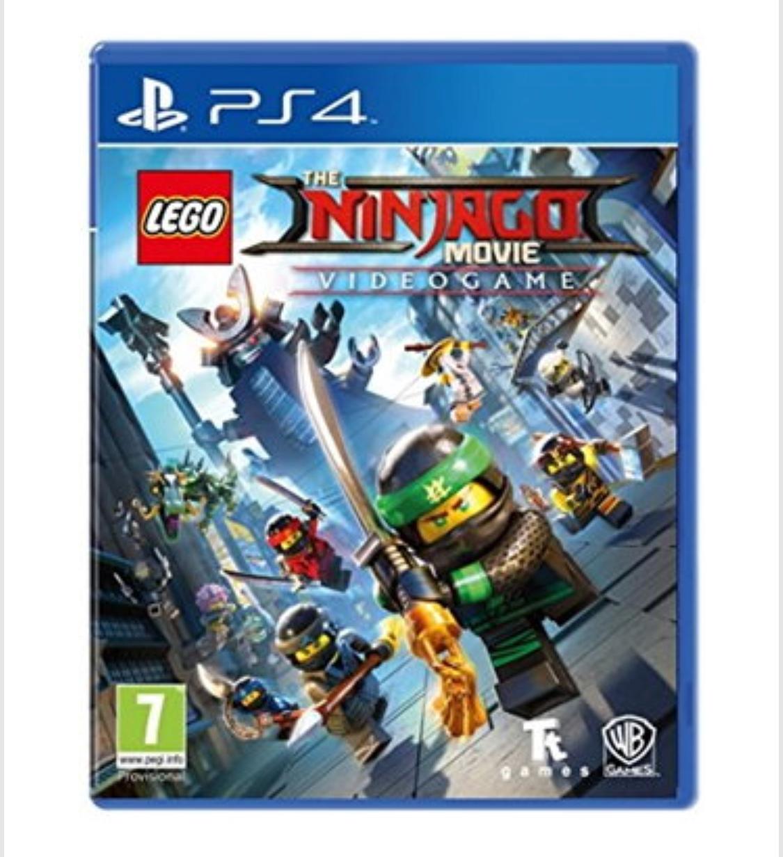 LEGO The Ninjago Movie: Videogame £14.99(PS4)/ £22.85(Nintendo) delivered @ Base,