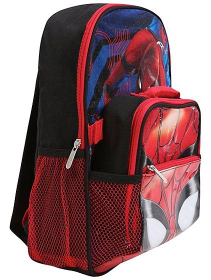 Marvel Spiderman school bag & lunch bag set now £6 @ Asda