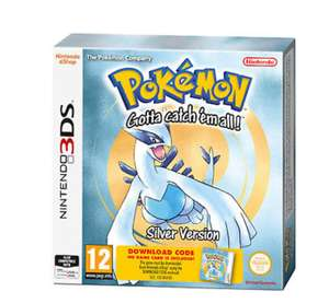 Nintendo Pokemon Silver Boxed Download Code For Nintendo 3DS Ages 12+ , for £8.50 delivered Tesco eBay