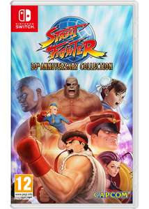 [UPDATE] Street Fighter 30th anniversary collection [switch] £34.99 at Grainger Games