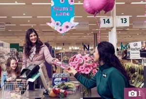 Special 'Mum' Lanes & Free Pink Gerbera Flowers at Morrisons on Mother's Day