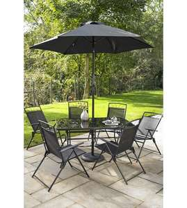 Kent 8 piece patio set reduced to £129.99 + £35 delivery from studio.co.uk