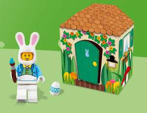 FREE LEGO Easter Bunny & Hut with any purchase over £35 at Lego Store