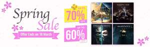 Spring Sale at PlayStation PSN Store Indonesia - *The Witcher 3, Injustice 2, Horizon Zero Dawn, The Last of Us, Dead or Alive 5, Crash Bandicoot, The Order and MORE