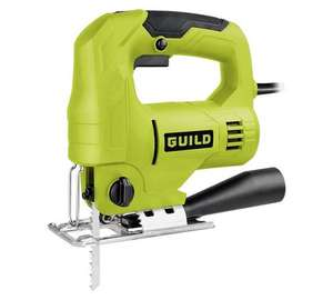Guild variable speed 550W jigsaw just £16.66 (1/3 off, was £24.99) at Argos. 2 year warranty. Good stocks!
