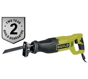 Guild reciprocating saw just £39.99 (was £59.99, 1/3 off) at Argos