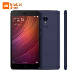 Xiaomi Redmi Note 4 Pro 3GB RAM 64GB ROM Helio X20 in GOLD with Official Global Firmware £119.68 from Aliexpress, Xiaomi Mi store