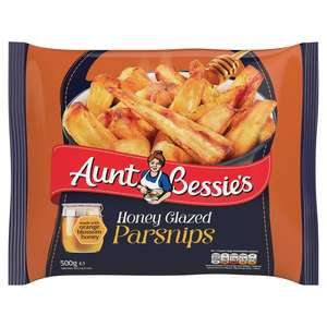 Aunt Bessie's honey parsnips on offer for £1 at Asda / 50p via click snap and save