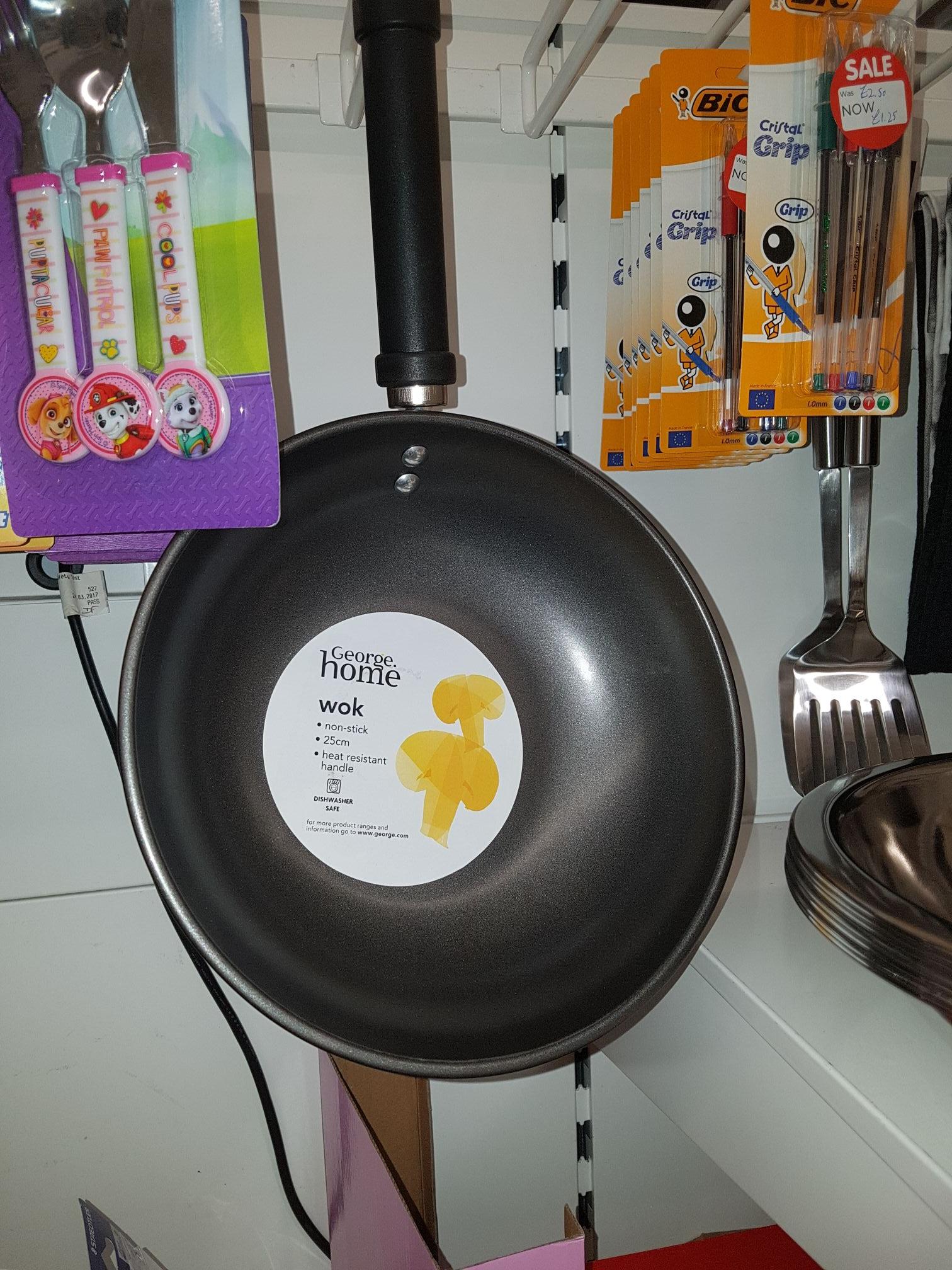 George HOME wok £1.50 at Asda instore