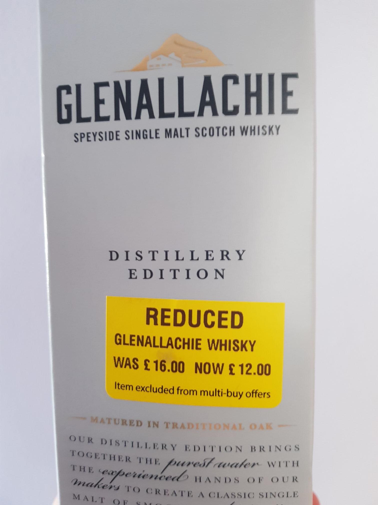 Glenallachie Distillery Edition Single Malt Whisky 70cl £12 instore at Morrisons (Kirkcaldy) - £12