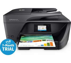 HP OfficeJet 6960 + 7 month's instant ink £62.10 w/code @ Currys