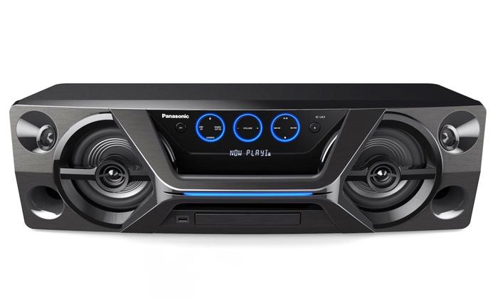 Panasonic SC-UA3E-K Megasound Bluetooth Hi-Fi System Free Delivery - £129.99 @ Groupon