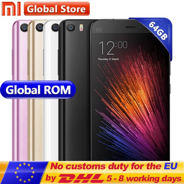 "Original Xiaomi Mi5 M5 Mi 5 Prime 3GB RAM 64GB ROM Mobile Phone Snapdragon 820 5.15"" FHD 16MP Fingerprint ID MIUI 8 smartphone £141.62 white colour @ Mi global store/aliexpress"
