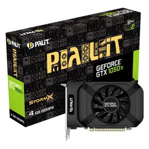 PALIT GEFORCE GTX 1050TI STORMX 4096MB PCI-EXPRESS GDDR5 GRAPHICS CARD @ overclockers - £159.89 Delivered