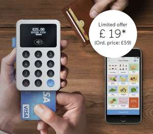 iZettle Reader for £19 + VAT (Normally £59 +VAT) @ iZettle