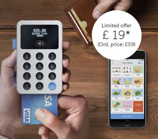 iZettle Reader for £19 + VAT (Normally £59 +VAT) @ iZettle