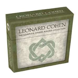 Leonard Cohen  - The Complete Studio Albums Collection CD Box set now only £19.99  (Prime) / £21.98 (non Prime) at Amazon