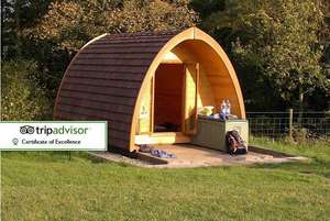 2 Night Lake District Glamping Break For 2 People now ££44.15 w/code ( £22.08 p.p) @ Wowcher