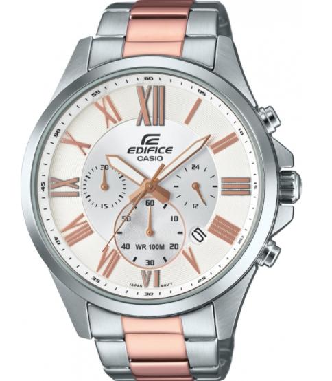 Casio Mens Edifice Watch EFV-500SG-7AVUEF £80.12 w/code @ Watches2U (2 yrs warranty)
