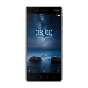 Nokia 8 SIM-Free Smartphone - Steel - £349.95 from Amazon