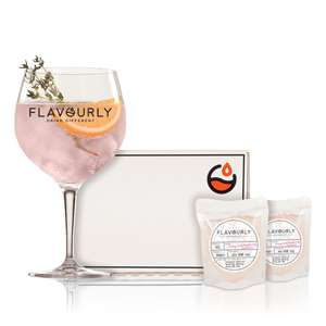 Honey & Raspberry Gin 2 x 50ml Gift Set 50% off + FREE DELIVERY £4.99 at Flavourly