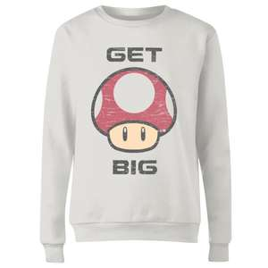 FREE Mystery 3-Pack of Tees when you purchase a Sweatshirt (Includes Disney / Star Wars / Nintendo and more) £24.99 @ Zavvi