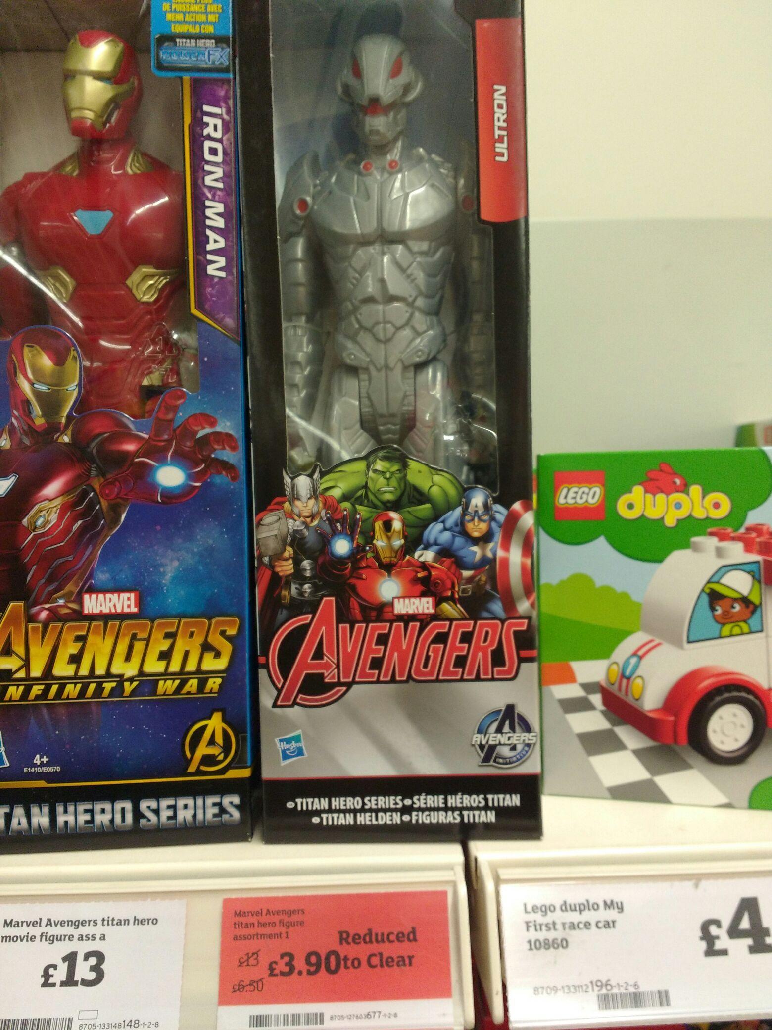 Marvel Avengers Titan Hero - £3.90 instore @ Sainsbury's (Eastbourne)
