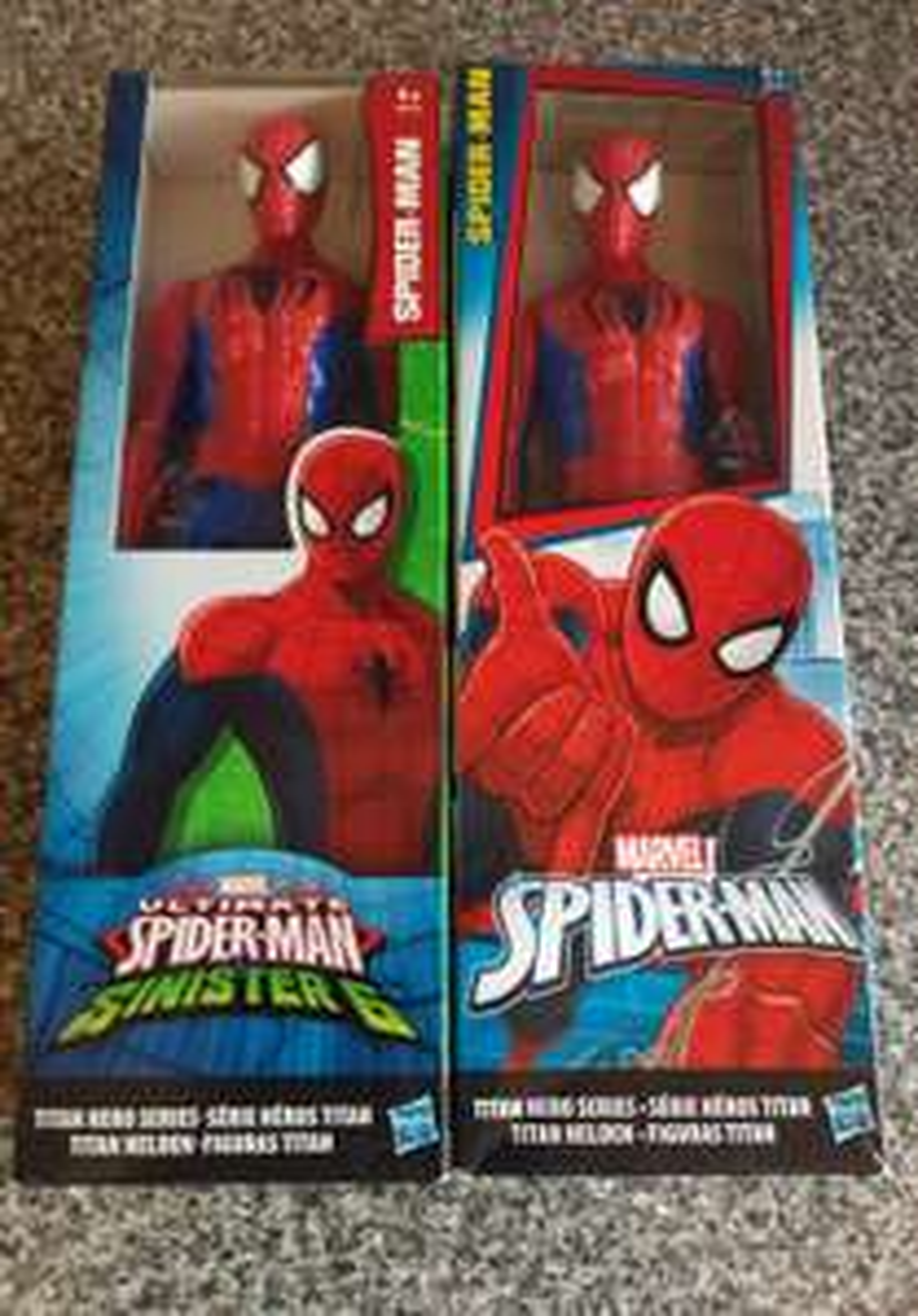 Spiderman Titan figure - £1.30 instore @ Sainsbury's (Sunderland)