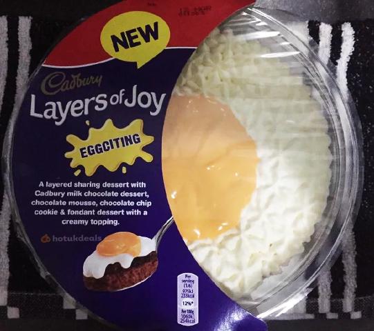Large Cadburys Creme Egg Layers of Joy trifle £1 @ Heron