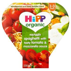 Hipp organic 1-3 years 2 for £1 in heron foods