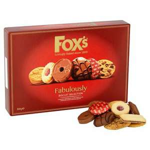 Fox's Fabulously Biscuit Selection (300g) - £2 @ Tesco