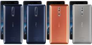 Nokia 8 Sim Free - 4G/64GB - Carphone Warehouse - £349.99 Delivered @ CPW