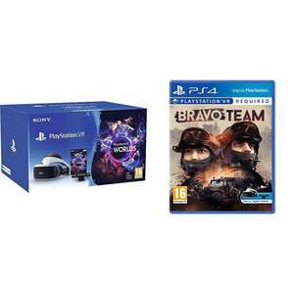 Sony PlayStation VR Starter Pack + Bravo Team (PSVR)@ Amazon £299 Delivered