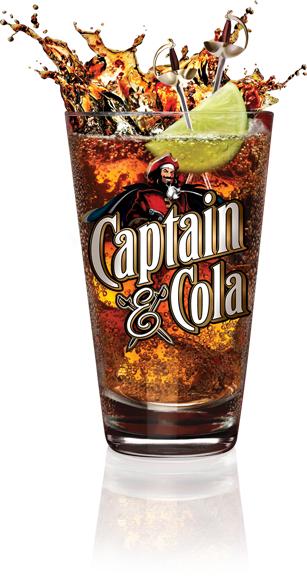 Free Captain Morgan & Cola via Facebook Chat.