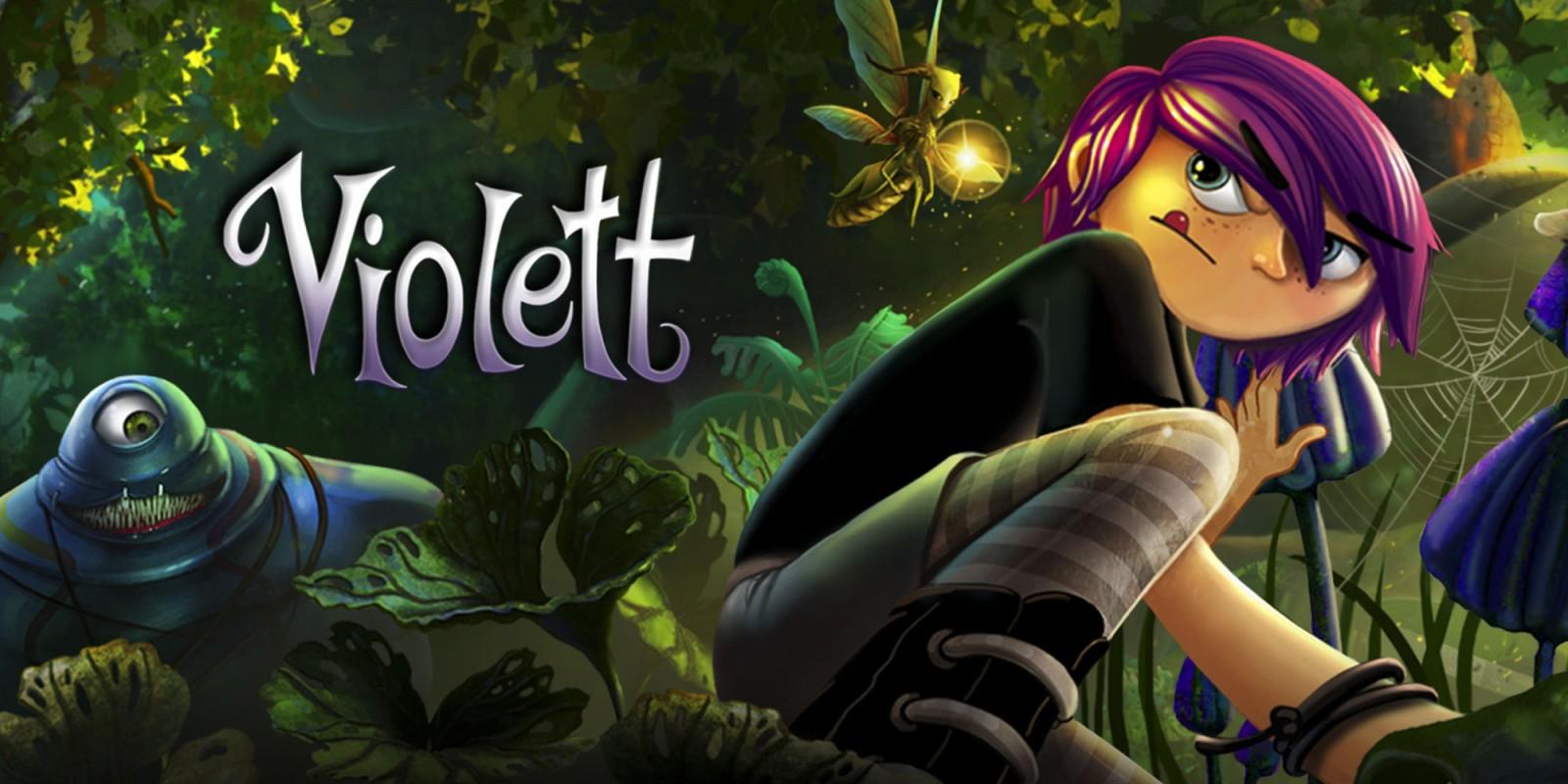 Violett (Nintendo Switch) Download £2.69 @ NintendoEShop
