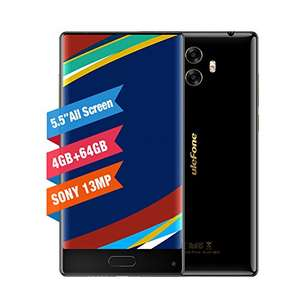 Ulefone MIX 5.5 Inch Display Smartphone Dual SIM Card Dual Rear Camera 4GB+64GB Octa-core 4G - £115.59 - Sold by delicacyOZdex / Fulfilled by Amazon