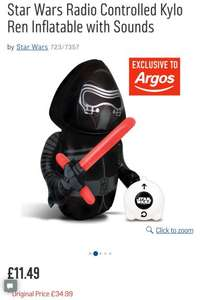 Star Wars Radio Controlled Kylo Ren Inflatable with Sounds - £11.49 (was £34.99) @Argos
