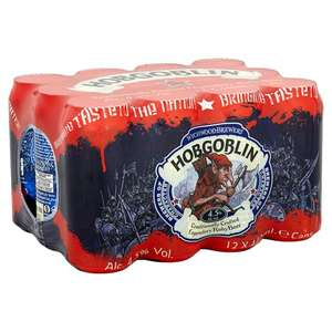 12 Pack of Hobgoblin Ruby Cans 440ml for £10 @ Tesco