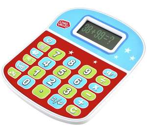 Chad Valley playsmart calculator + quiz function,FURTHER reduced  £3.49 was £10.99 @ argos