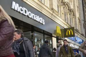 McDonald's is offering a three course Mothers day meal for £10.00
