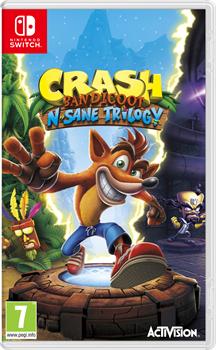 Crash Bandicoot N. Sane Trilogy (Switch) £28.99 @  Graingergames