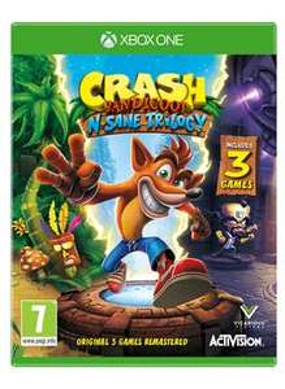 Crash Bandicoot N. Sane Trilogy (Xbox One) @ Grainger Games / £28.99