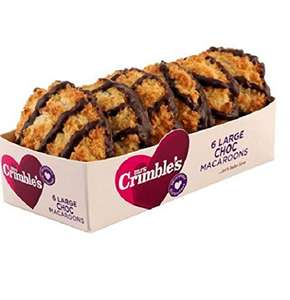 Mrs Crimbles Chocolate/Coconut Macaroons x6 £1 at Sainsbury/Asda or 50p with TCB snap and save