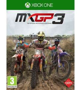 MXGP3 - The Official Motocross Videogame Xbox One - £14.99 + £4.99 delivery at Studio