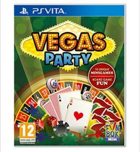 Vegas Party (PlayStation Vita), for £9.99 delivered @ Base