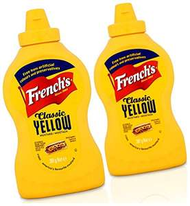 French's Classic Yellow Mustard 397 g (Pack of 4) - £4 Add on item / Minimum Spend £20 at Amazon